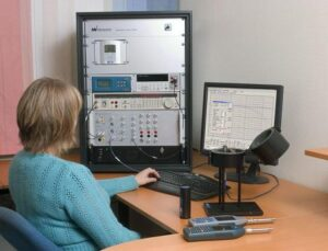 Sound Level Meter and microphone calibration system Nor1504a